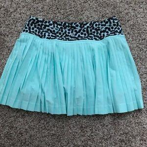 lululemon athletica Skirts - Lululemon sea foam/aqua blue skirt size 2